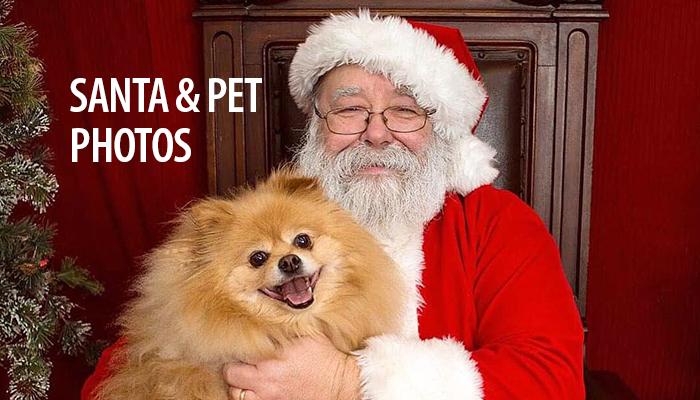 Santa and Pet Photos